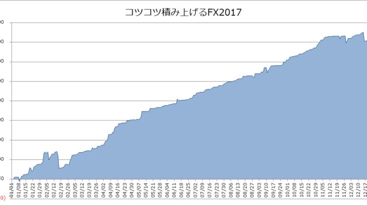 【FX年間成績】2017年のFX損益は+約74万円