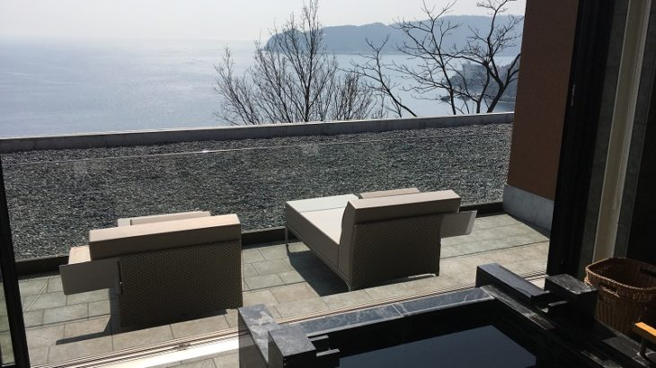 【資産運用で得たおかねで旅行】[2764]ひらまつのThe Hiramatsu Hotels & Resorts 熱海。熱海1泊小旅行。