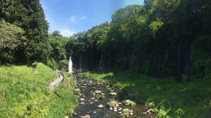 早起き早帰りドライブ!富士山麓・白糸の滝で天然ミストを浴びる。