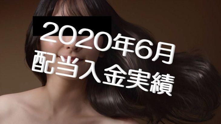 2020年6月の配当収入は22.8万円!不労収入(新垣さんが夜のバイトで僕のために稼いでくれたおかね)です!!